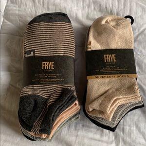(10) Pairs Frye Sock Bundle